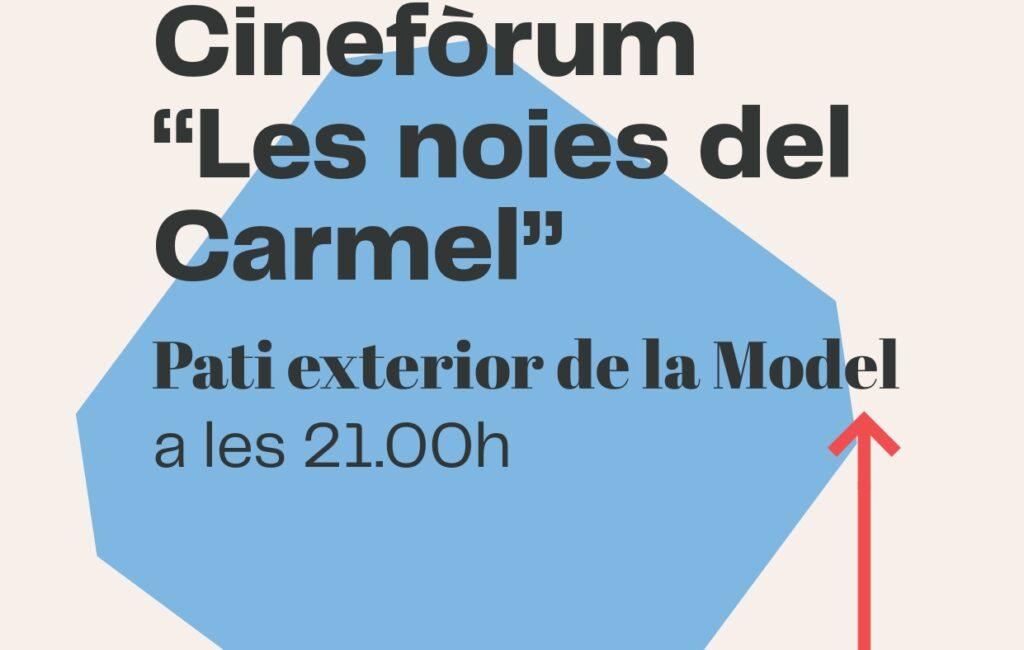 """7 d'octubre // CINEFÒRUM """"Les noies del Carmel"""""""