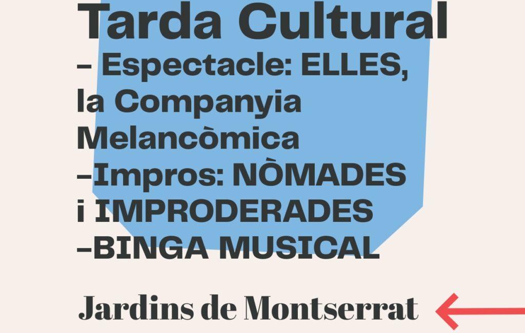 11 d'octubre // TARDA CULTURAL ALS JARDINS MONTSERRAT